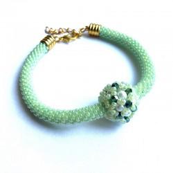 Nebula (green) - bransoletka
