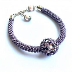 Nebula (violet) - bransoletka